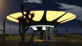 getlinkyoutube.com-Aliens after UFO Landing - royalty Free Green Screen - Video Background 8