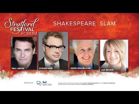 2014 Shakespeare Slam | The Forum | Stratford Festival