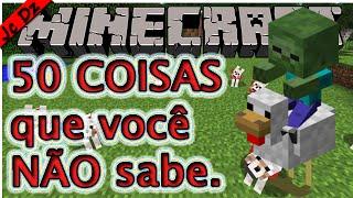 getlinkyoutube.com-50 Coisas que você não sabe sobre Minecraft #1