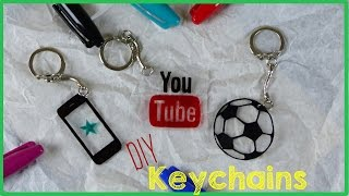 getlinkyoutube.com-DIY Crafts: How To Make A Keychain