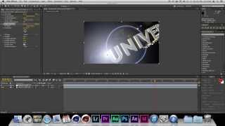 getlinkyoutube.com-Adobe After Effects - Universal Intro Lens Flares | Cinema 4D | HD