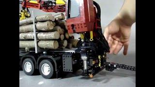 getlinkyoutube.com-SCANIA R620 Timber Truck