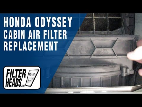 How to Replace Cabin Air Filter 2007 Honda Odyssey