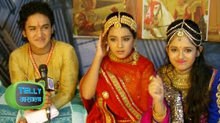 Faisal Khan a.k.a. Pratap And Roshni Walia a.k.a. Ajabde Excited Before Wedding In Maharana Pratap