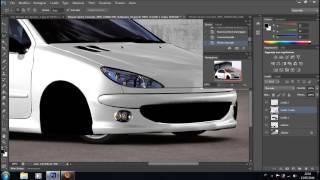 getlinkyoutube.com-Peugeot 206 Gti Virtual Tuning Photoshop