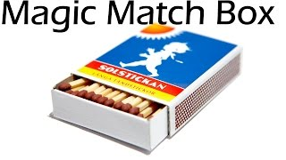 getlinkyoutube.com-How to make Magic Match box - Matches magic trick