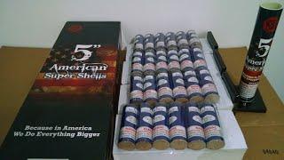 "getlinkyoutube.com-5"" American Super Shells - BIG Fireworks"