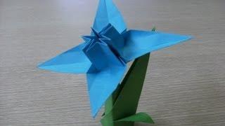 getlinkyoutube.com-origami 3d - ŻONKIL - NARCYZ - instrukcja jak wykonać