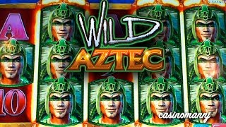 getlinkyoutube.com-WILD AZTEC SLOT - *Big Win* - Slot Machine Bonus