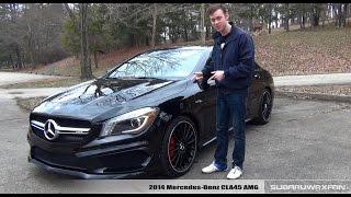 getlinkyoutube.com-Review: 2014 Mercedes-Benz CLA45 AMG