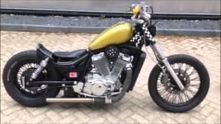 getlinkyoutube.com-Suzuki Intruder Custom Bobber