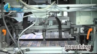 getlinkyoutube.com-Plastic card production - Card body manufacturing - PVC cards