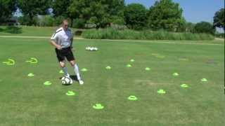 getlinkyoutube.com-First Touch Training Precision Dribbling Series: Volume 1 (Complications Excerpt)