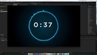 getlinkyoutube.com-How to make a countdown in after effects with audio reaction