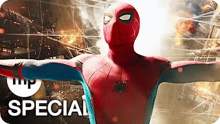 SPIDER-MAN: HOMECOMING Trailer 1 & 2 German Deutsch (2017)