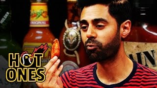 Hasan Minhaj Has an Out-of-Body Experience Eating Spicy Wings | Hot Ones