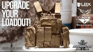 Tactical Airsoft Vests - LBX, Flyye, Condor, Blue Force - AirSplat on Demand