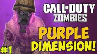 "getlinkyoutube.com-""TRIPPIEST MAP EVER!"" - Custom Zombies ""PURPLE DIMENSION"" #1 (CoD WaW Custom Zombies)"