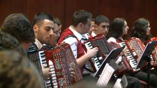 getlinkyoutube.com-Victor Derenboim Accordion Orchestra-Pirates of the Caribbean