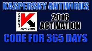 getlinkyoutube.com-Kaspersky Antivirus 2016 Activation Code for 365 Days