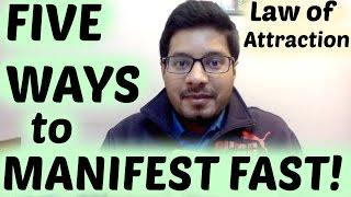 getlinkyoutube.com-Manifest FAST with Law of Attraction - MindBodySpirit by Suyash