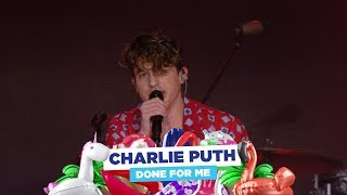 Charlie Puth - 'Done For Me' (live at Capital's Summertime Ball 2018)