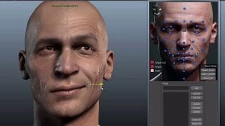 getlinkyoutube.com-3D Facial Rig Manager for Maya & 3ds Max by Snappers Systems - Character Rigging Demo Reel