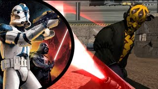 getlinkyoutube.com-Star Wars: Battlefront II- Coruscant: Skylines | 66th Legion | HD