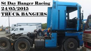 getlinkyoutube.com-St Day Truck Banger Racing 24/05/2015