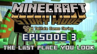 getlinkyoutube.com-Minecraft: Story Mode Ep 3: The Last Place You Look   FULL Episode