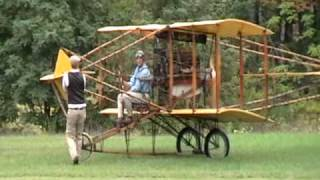 getlinkyoutube.com-Old Rhinebeck jamboree 2009 - ORA's Pioneer aircraft parade on Saturday