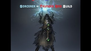 getlinkyoutube.com-[Grim Dawn] Sorcerer 스턴잭 Build - Thunder God!