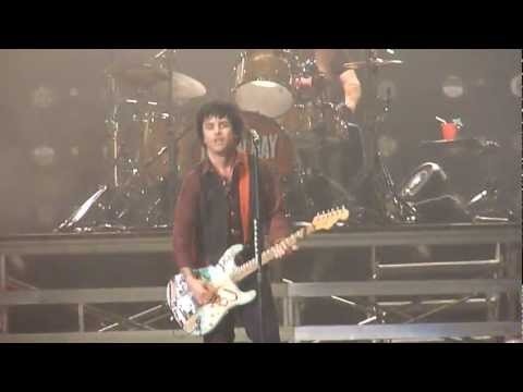 Green Day When I Come Around 4/4/13 Patriot Center Fairfax VA live performance