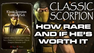 getlinkyoutube.com-Classic Scorpion Kombat pack. HE'S SO RARE!!! Check him out.