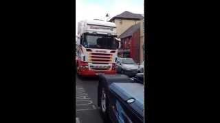 getlinkyoutube.com-Northwest truck fest 2014 convoy part 1