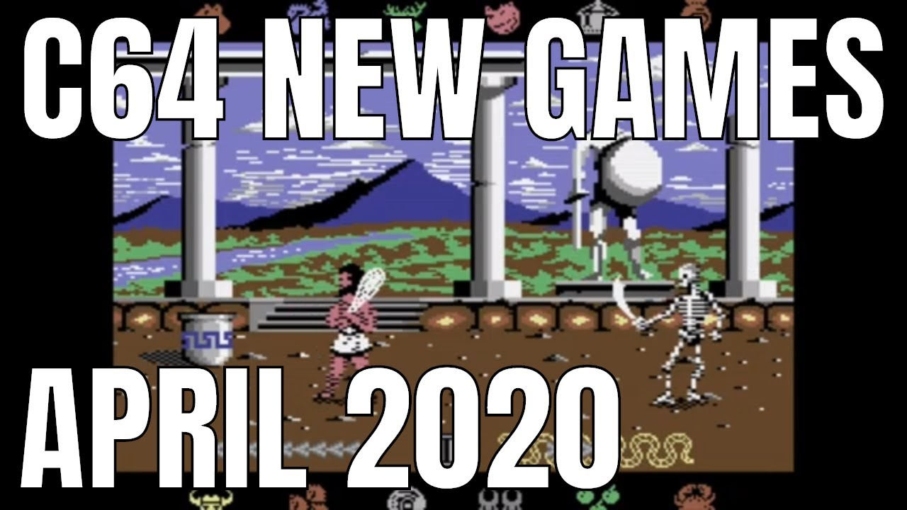 C64 NEW GAMES April 2020