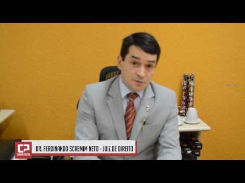 Dr. Ferdinando fala sobre a implantação do BPFron em Ubiratã
