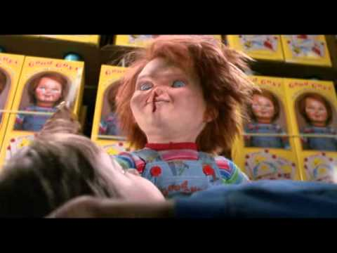 Angry Chucky Clips child's Play 2