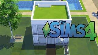 getlinkyoutube.com-지제이] 심즈4 건축 // 큐브하우스 만들기 // The Sims 4 House Building