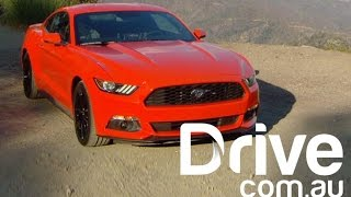 2015 Ford Mustang EcoBoost first drive Review | Drive.com.au