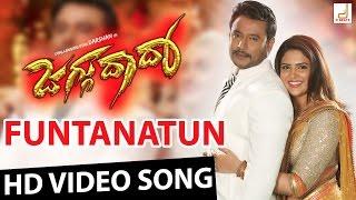 getlinkyoutube.com-Jaggu Dada - Funtanatun Full HD Kannada Movie Video Song | Challenging Star Darshan | V Harikrishna