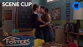 The Fosters   Season 5, Episode 12: Ximena And Callie Kiss   Freeform