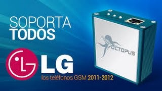 getlinkyoutube.com-Octopus LG box for unlock and service all LG models
