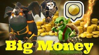 getlinkyoutube.com-Clash Of Clans | Th10  DISTRUTTO 100% con GoLaVa e BiG Money ITA