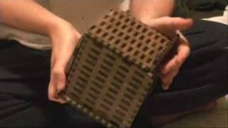 getlinkyoutube.com-SUPER CUBI 324-STEP JAPANESE PUZZLE BOX YOSEGI MUKU (R-4)