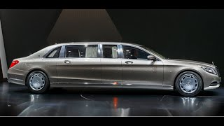 getlinkyoutube.com-Mercedes Maybach Pullman World Premiere Commercial CARJAM TV HD 2016