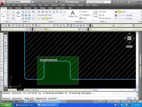 AutoCAD 2D - Hatch Command