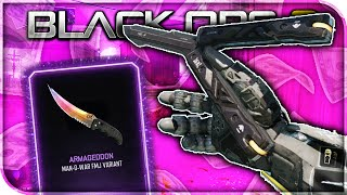 "BUTTERFLY KNIFE GAMEPLAY! HOW TO GET THE ""BUTTERFLY KNIFE"" IN BLACK OPS 3! (BO3 NEW SUPPLY DROP DLC)"