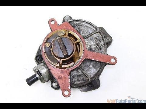 Как поменять прокладку  вакуумной помпы Audi A6 \ How to change the gasket vacuum pump Audi A6