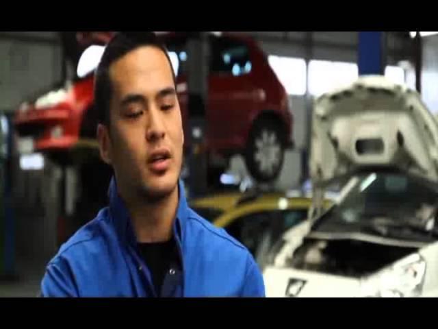 Thierry 1ère année de BTS Après-vente automobile